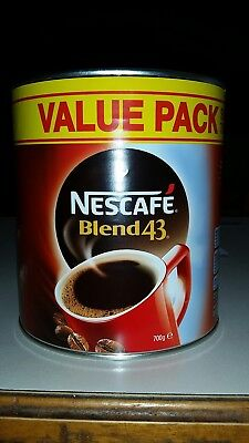 nescafe blend 43 700g FREEPOST AUSSIE WIDE cheapest in Australia! !!!!!!!!!!
