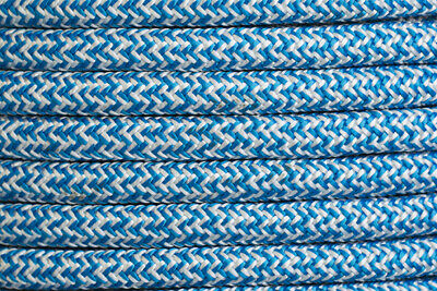 High Performance Polyester Double Braided 10mm X 100 Metre Reel Blue/White