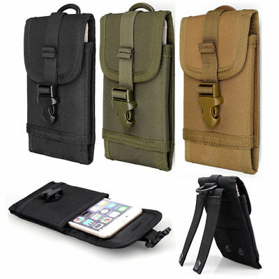 """Tactical Military Molle Cell Phone Case Cover Pouch Belt Bag For Smartphone 5.5"""""""