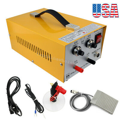 From Usa!Jewelry Welding Machine Electric Pulse Sparkle Spot Welder Jewelry Tool