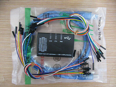 USB logic16 Logic 100MHz 16Ch Logic Analyzer for ARM FPGA 1.2.10 version