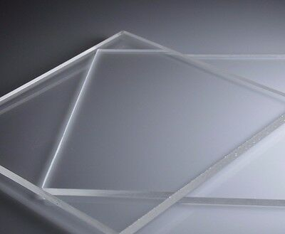 Clear Cast Acrylic Sheet   All Sizes
