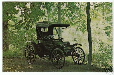 1910 DURYEA BUGGYAUT Classic Car Picture Photo Postcard