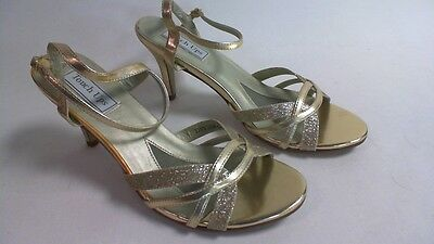 Touch Ups Wedding/Evening Shoes - Taryn  - Gold - US 10W - UK 8 Wide #25A161
