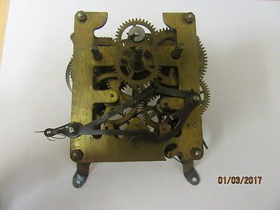Wall Clock Movement Ideal For Spares Or Repair