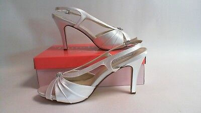 NEW: Touch Ups Wedding/ Evening Shoes - White- Brie- US 10 M UK 8 #23R831