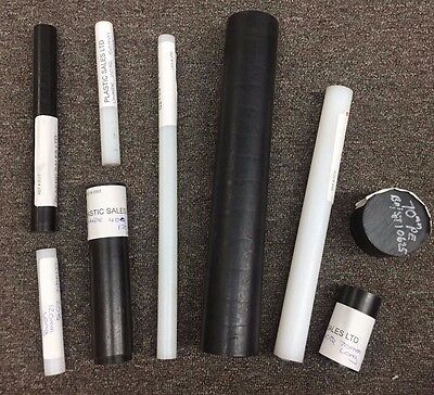 Various Polyethylene (UHMWPE) Rod / Bar Offcuts