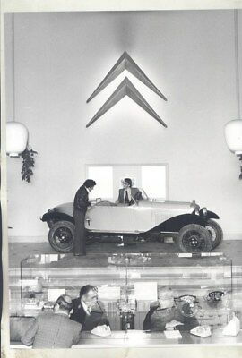 1922 ? Citroen Boattail in Factory Museum ORIGINAL Factory Photograph wy3102