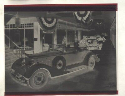 1934 Packard 1101 at Atlantic City Auto Show Factory Photo Negative wy3135