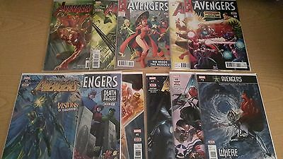 Marvel Comics Lot NOW Avengers Lot (2016) NEW Bagged and Boarded