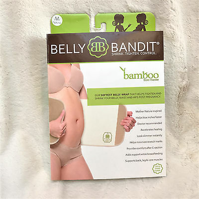 Belly Bandit Viscose from Bamboo Postpartum Belly Wrap - Natural - M, free ship