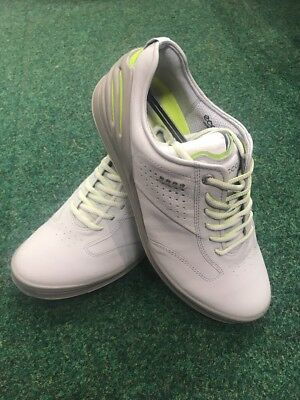 Brand New Ecco Men's Cage Pro Golf Shoes Size 42 FREE Shoe Care Kit