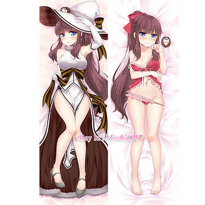 New Game! Dakimakura Hifumi Takimoto Anime Girl Hugging Body Pillow Case Cover