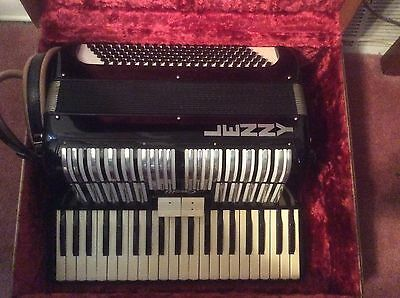 Vintage Casalli Piano Accordion Black, in Original Case
