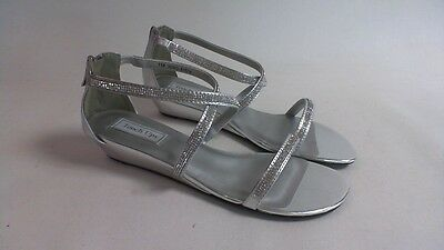 NEW: Touch Ups Wedding/ Evening Shoes - Silver - Moriah - US 9 M UK 7 #37R151