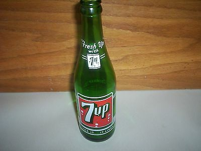 "Vintage 7UP Soda Pop Bottle : 12oz 7-UP Montreal ""You Like It It Likes You"" 9.5"""