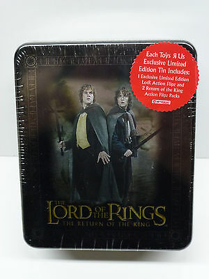 Lord of the Rings ROTK Merry & Pippin Sealed TCG Collectors Tin w/ Flips Packs