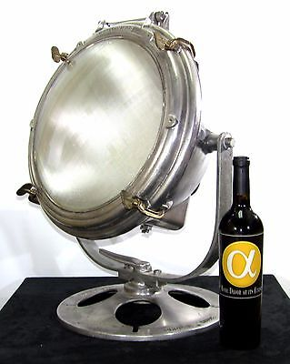 Vintage Industrial Nautical Adr-14 Crouse Hinds Searchlight Spotlight Pristine