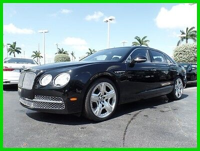 2014 Bentley Flying Spur  2014 Used Certified Turbo 6L W12 48V Automatic AWD Premium