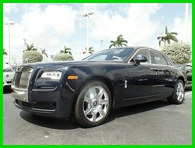 2016 Rolls-Royce Ghost Base Sedan 4-Door 2016 Used Turbo 6.6L V12 48V Automatic RWD Premium