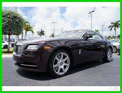 2015 Rolls-Royce Other Base Coupe 2-Door 2015 Used Turbo 6.6L V12 48V Automatic RWD Premium