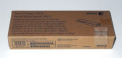 Xerox Toner Phaser 6600, WC 6605, 106R02230 Magenta high-capacity