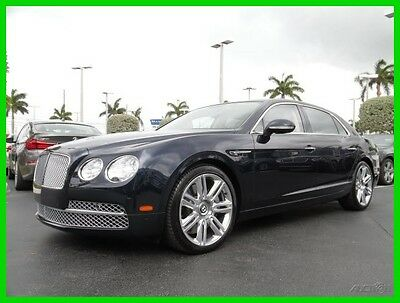 2016 Bentley Flying Spur W12 2016 W12 Used Turbo 6L W12 48V Automatic AWD Moonroof Premium