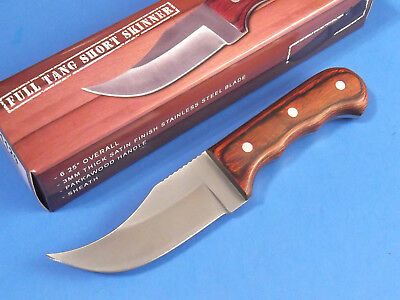 "FULL TANG SHORT SKINNER 211129 Pakkawood fixed blade knife 6 1/4"" overall NEW!"