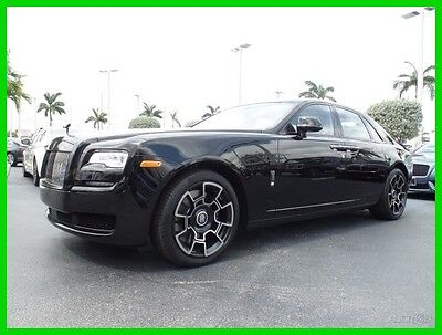 2017 Rolls-Royce Ghost Black Badge 2017 Black Badge New Turbo 6.6L V12 48V Automatic RWD Sedan Premium