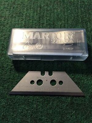 MARTOR metal heavy duty #99 BLADES FOR BOX CUTTER KNIFE 10 ea/ pk with snap box
