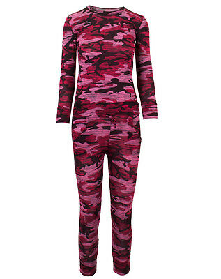 2017 Kids Pink Camouflage Print Lounge Suit Free UK delivery