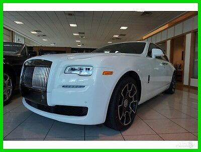 2017 Rolls-Royce Ghost Base Sedan 4-Door 2017 New Turbo 6.6L V12 48V Automatic RWD Premium