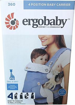 Ergobaby 360 Baby Carrier sling 4 ergo carry Positions:  Sophie