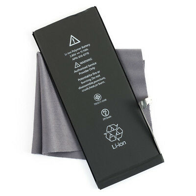 Replacement Battery for Apple iPhone 6 Mobile Phone 1810mAh A1586 & Microfiber