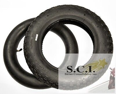 Honda Ct70 Ch150 Liberty 6 Ply Dot Front Or Rear Tire 4.00-10 + Tr87 Tube