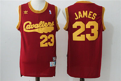 Nba Lebron James Cleveland Cavaliers #23 Swingman Jersey Red 2