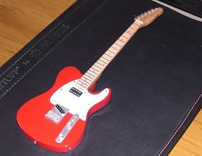 NEW Red Telecaster Sherryl Crow Miniature Mini Guitar with Stand