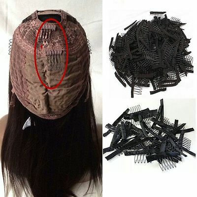 10/40pcs Wig Combs Steel Tooth Comb for Lace Cap Convenient Safe&Stable,FASTSHIP