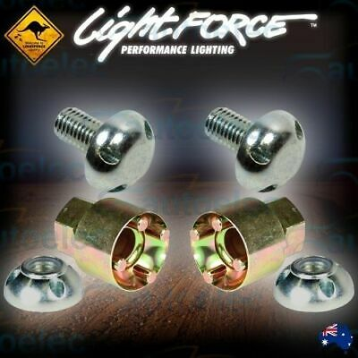 Lightforce Htx 230 Driving Light Anti Theft Lock Nuts & Bolts Kit Locknuts New