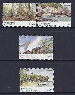 Christmas Island 1993 Scenic Views MNH