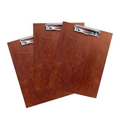 20 x Wooden Menu Board, A4 with Top Standard Clip, Restaurant / Specials Menu