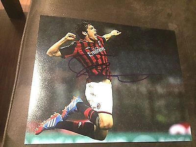 Ricardo Kaka Autographed Signed 8x10 Photo - Soccer Superstar