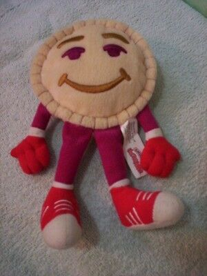 """Smuckers  """"Uncrustables""""  PB & J mascot - 7""""tall -  ALL  ITEMS  ON  SALE  NOW !"""