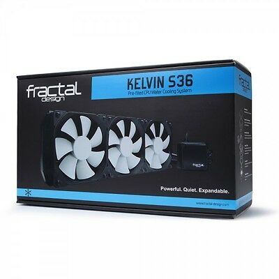 Fractal Design Kelvin S36 All In One CPU Water Cooler (AIO)