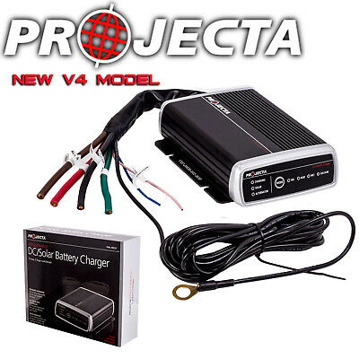 Projecta 12V Volt Dc To Dc 25A Amp Battery Charger Agm Deep Cycle Solar Lv Idc25
