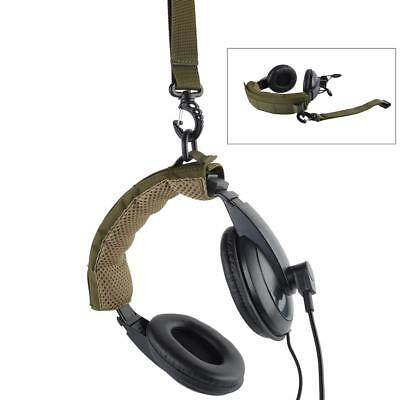 Advanced Modular Headset Cover Molle Headband for General Earmuffs /Army Green