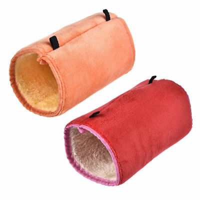 Guinea Pig Hanging Tunnel Warm Bed House Ferret Hamster Small Animal Play Toy