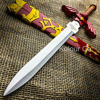 "12"" Legend of Zelda Hylian Hyrule Ocarina of Time Master Sword Short Dagger"