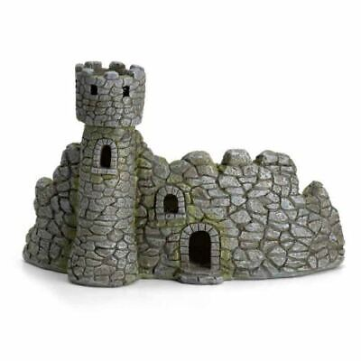Fiddlehead Dragon Keep Castle Fairy Garden Home Abode Micro Miniature Accessory
