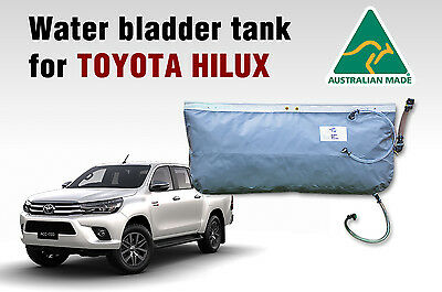 Hanging water bladder tank(60 Ltrs) for TOYOTA HILUX